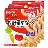 Pigeon baby snack healthy up calcium vegetables snack carrot + tomato 3 Box Set (1 box 2 bags)