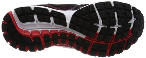 Brooks Ghost 8 -  para hombre Black/High Risk Red/Silver