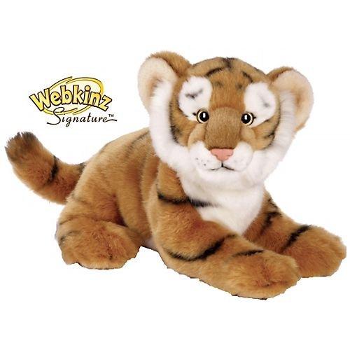 Webkinz Figure - Webkinz Signature Deluxe Plush Figure Endangered Bengal Tiger