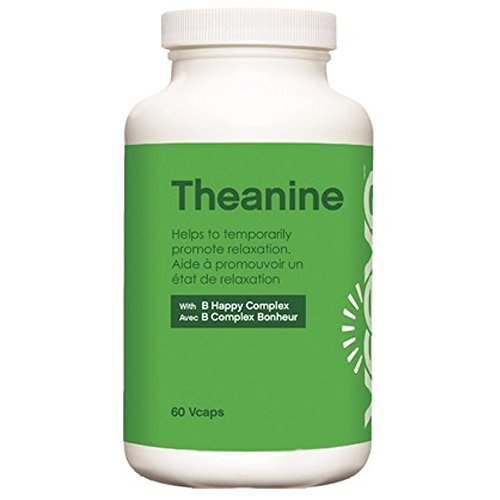 Veeva Basics Theanine W B Happy Complex  60 Veg Caps