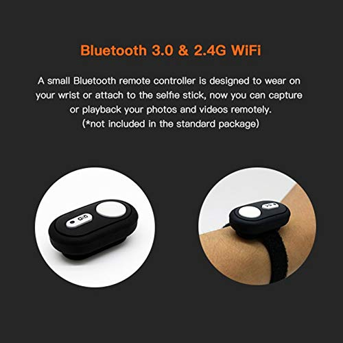Wikiwand Firefly 7SE 1080P 170°WiFi BT FPV HD Waterproof Sport Camera for RC Drone by Wikiwand (Image #5)