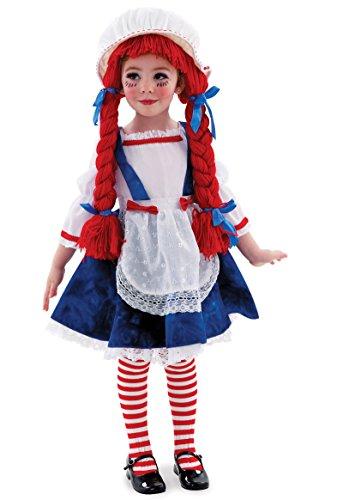 Yarn Babies Girl Ragdoll Costume, (Scary Ragdoll Costumes)