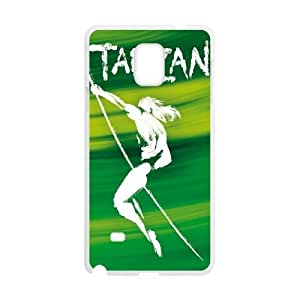 Printed Cover Protector Samsung Galaxy Note 4 N9108 Cell Phone Case Biojt Tarzan Unique Design Cases