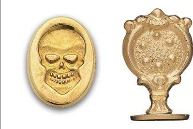 skull wax stamp - 8