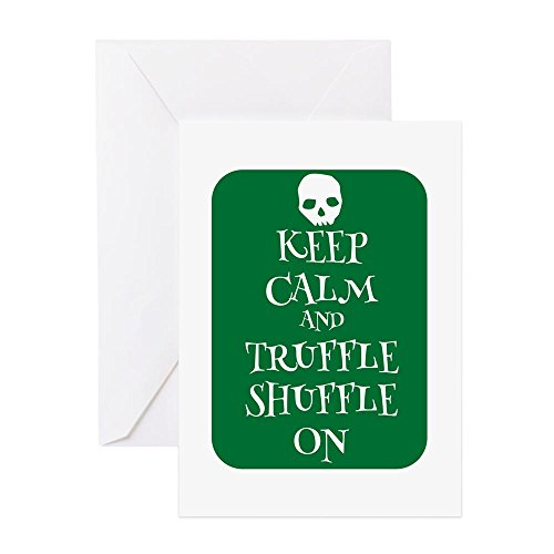 CafePress - Truffle On Goonies Style Greeting Cards - Greeting Card, Note Card, Birthday Card, Blank Inside Matte (Notes Truffle)