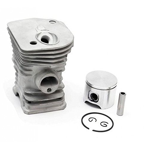 Cylinder and Piston Kit 40mm For Husqvarna 340,340E Chrome (503870076, 503 87 00-76) - 00 Piston Kit