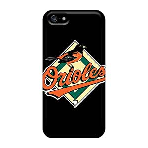Iphone 5/5s Case Slim [ultra Fit] Baseball Baltimore Orioles 5 Protective Case Cover