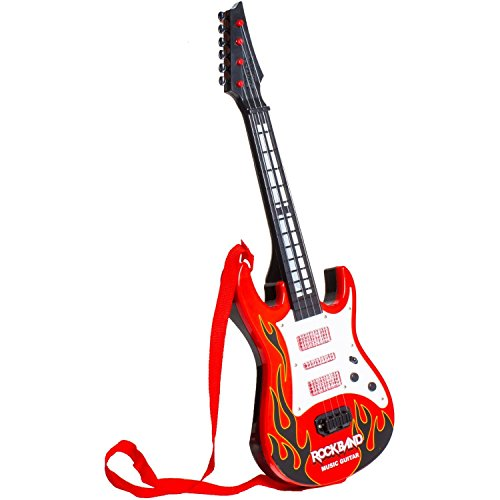 buy tickles red rockband musical instrument guitar toy for kids boys