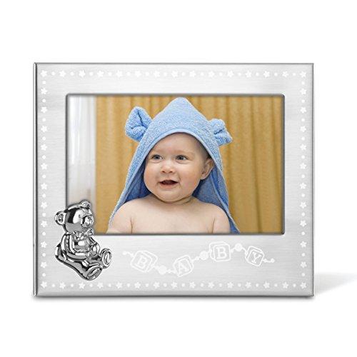 Lenox 4x6 Baby Frame, Silver