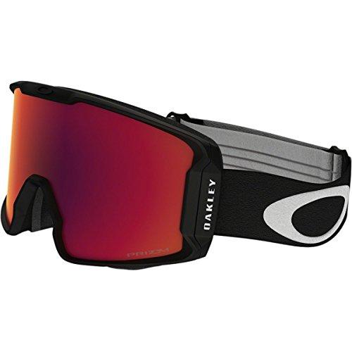 Oakley Men's Line Miner Snow Inferno Goggles, Matte Black, Prizm Torch Iridium, - Store La Oakley