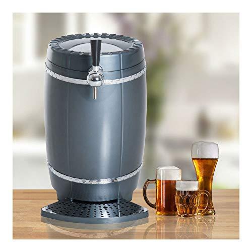 Dispenser Cooler Draft Beer (10L Draft Beer Tower Dispenser Mini Keg Cooler Automotive Picnic W/LED Light)