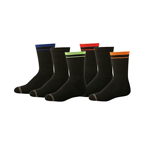 Gold Toe Big Boys Athletic Crew Sock Six-Pack