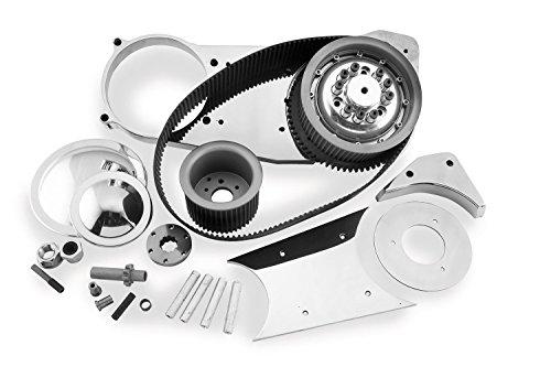 Belt Drives Ltd. 3in. Open Primary Electric Start Belt Drive for Harley Davidso