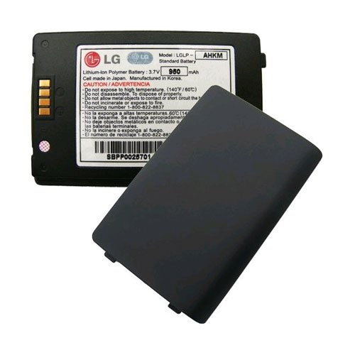Env2 Phone - OEM LG enV2 VX9100 Standard Battery LGLP-AHKM SBPP0025701 (Black)