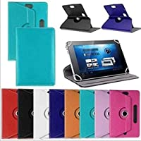10 inch Flat case Crystal Pattern Universal Protective case Tablet Universal Leather case(Deep Blue)