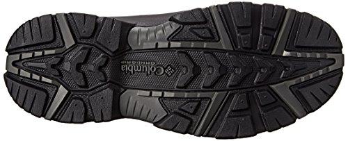 ColumbiaBUGABOOT PLUS III OMNI-HEAT - zapatillas de trekking y senderismo de media caña hombre negro - Black/ Charcoal