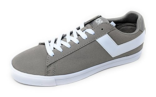 CVS 13 Up Grey White Mens Low Top Sneakers Canvas Core Pony Star Lace M wqF78I