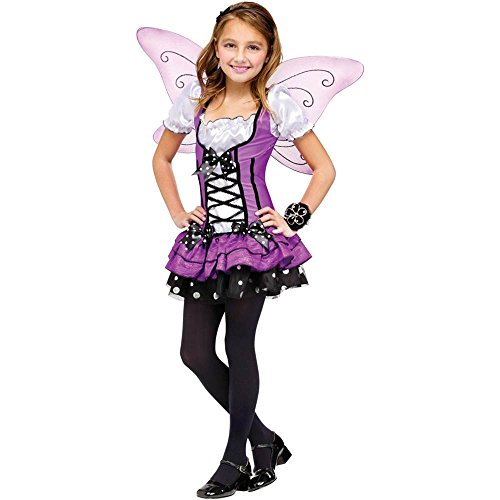 Womens Lilac Fairy Costumes (Lilac Fairy Child Costume - Large)