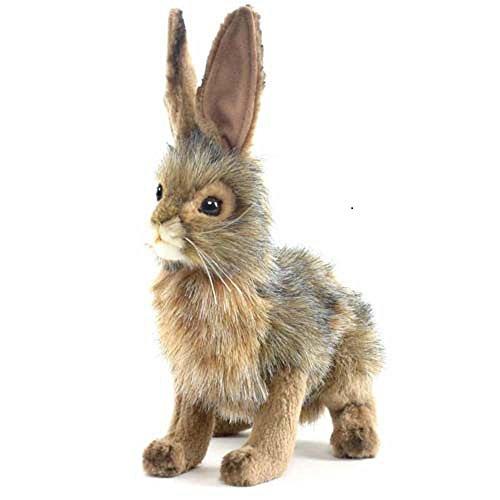 """Hansa Plush - 9"""" Blacktail Jack Rabbit"""