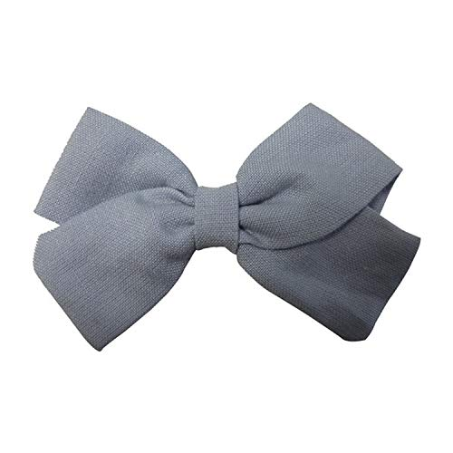 Balalei Cotton Fabric bow Clips Boutique Hair bows Hair Clips Hand-Tied Bow Hair Barrettes Hair Bow Hair Grips Kids Girls Hair Accessory,307. Bluebell ()