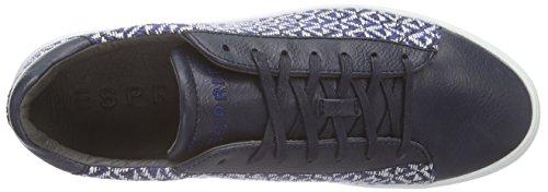 Esprit Lizette Lace Up - Zapatillas Mujer Azul - Blau (415 ink)