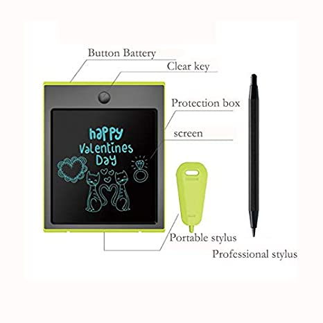 Small LCD Tablet Creative Multi-Function Pen Holder Storage Design