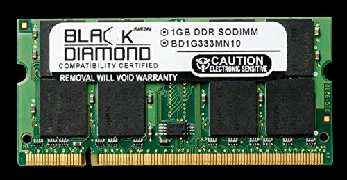 1GB RAM Memory for Averatec AV Series AV4155-EH1 Black Diamond Memory Module DDR SO-DIMM 200pin PC2700 333MHz Upgrade ()