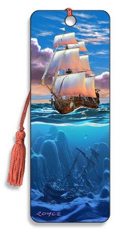 Artgame - Sail Away - 3D Bookmark from Artgame
