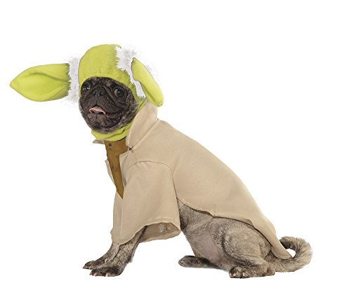 Rubies Costume Star Wars Collection Pet Costume, Small, Yoda (Best Halloween Dog Costumes 2017)