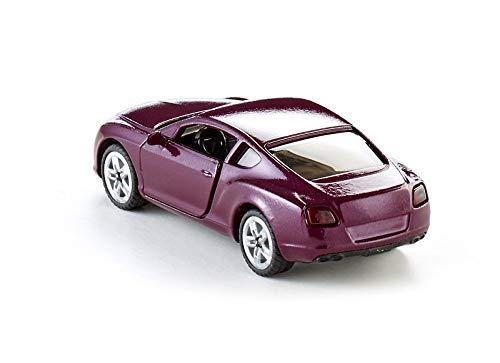 SIKU 1483 dise/ño de Bentley Continental GT V8 Color Magenta Coche de Juguete