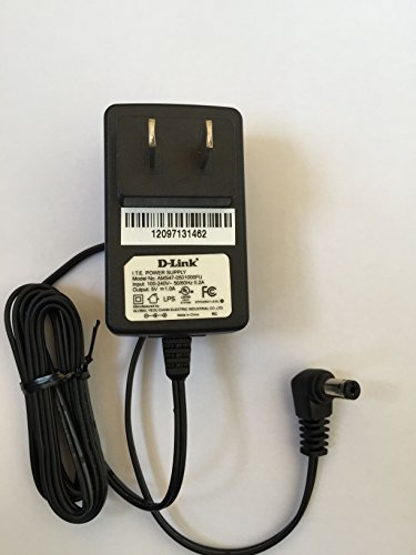 New Genuine D-Link 5V 1A AC / DC Power Supply Adapter Model Number: AMS47-0501000FU