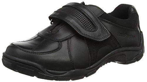 Hush Puppies Jungen Luke Junior Slipper Schwarz (Black)