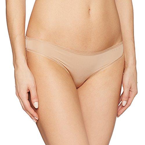 Microfiber Nylon Bikini - DKNY Women's Litewear Low Rise Bikini, Glow, Large
