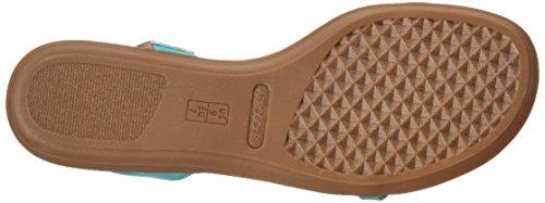 Aerosoles Women's Chlearwater Flat Sandal Turquoise KCTsnjb