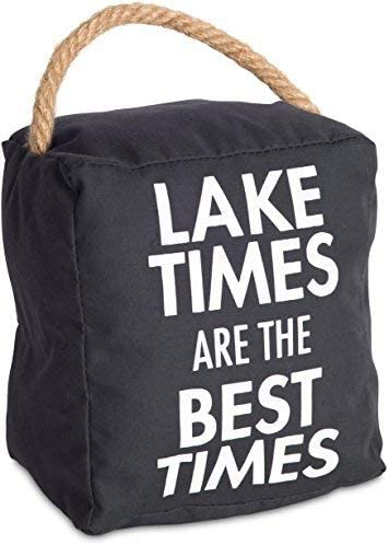 Relax Unwind Enjoy Tan Door Stopper Pavilion Gift Company Lake Rules