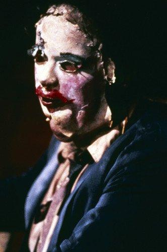 Gunnar Hansen in The Texas Chain Saw Massacre creepy skin face mask Leatherface 24x36 -