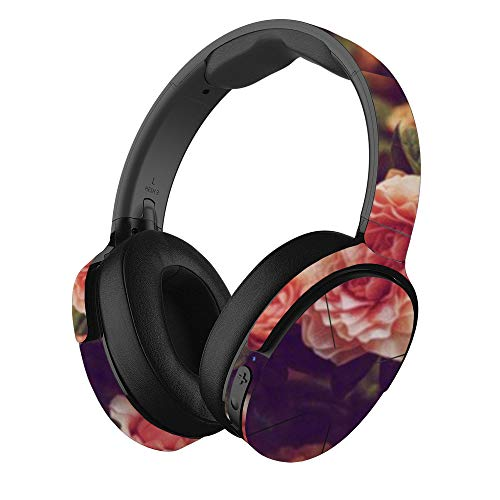 MightySkins Skin Compatible with Skullcandy Hesh 3 Wireless Headphones - Vintage Roses | Protective, Durable, and Unique Vinyl wrap Cover | Easy to Apply, Remove, and Change Styles | Made in The USA