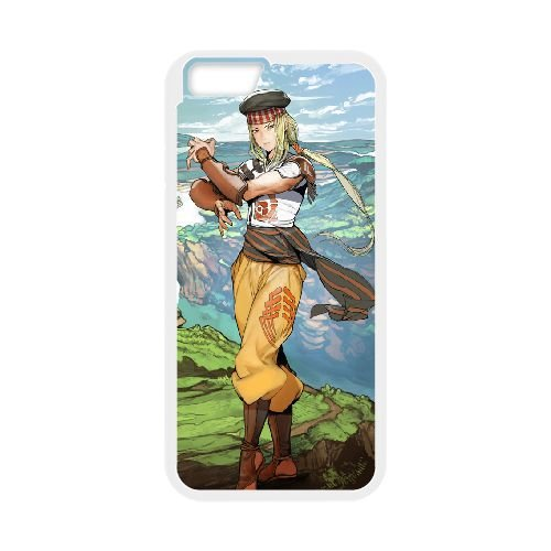 Suikoden Tierkreis 2 coque iPhone 6 Plus 5.5 Inch cellulaire cas coque de téléphone cas blanche couverture de téléphone portable EEECBCAAN05399