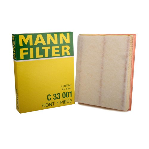 Rear Air Cleaner - Mann Filter C 33 001 Air Filter Element