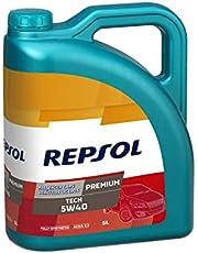Repsol RP081J55 Premium Tech 5W-40 Aceite de Motor para Coche, 5 L