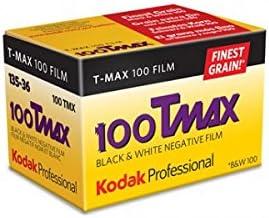 Black and White Film Pack of 5 24 Exposures 35mm Kodak 100 TMAX Professional ISO 100