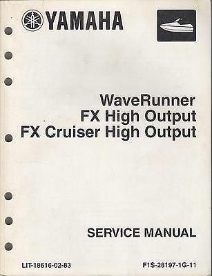 Yamaha Fx High Output - 8