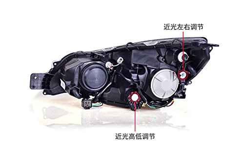 GOWE Car Styling For Subaru Outback 2010-2014 for Outback head lamp LED DRL Lens Double Beam D2H HID Xenon bi xenon lens Color Temperature:5000K Wattage:55W 4