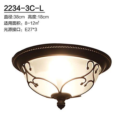 ANGEELEE Cuisine Américaine Moderne Lampe De Plafond Chambres Balcon  Corridor Lumières Lampes Feux Ronde ...