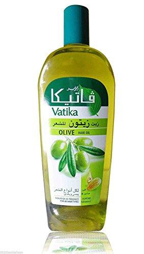 (180ml Dabur Vatika Olive Enriched Hair Oil Hair Loss Nourish & Protect)
