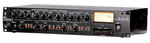 ART Pro Channel II Microphone Preamp/Compressor/EQ Professional Tube Based Selectable VU Metering - Mic Pre Module