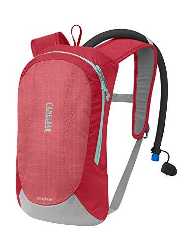 CamelBak Kicker Ski Hydration Pack, Sugar Coral/Blue, 1.5 L/50 oz