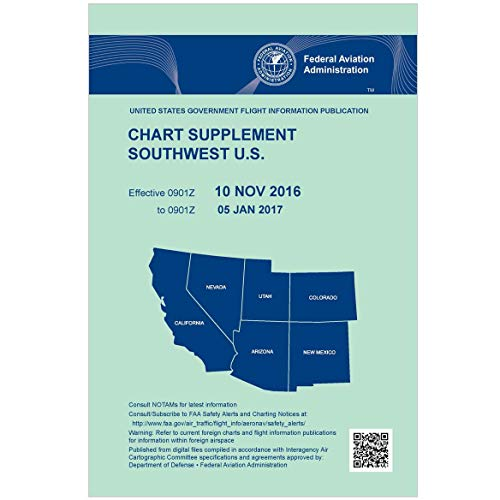 (FAA Chart Supplement Southwest (Always Current Edition))