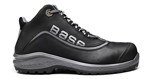 Base BE-FREE TOP - Calzado de protección de Piel para hombre Gris gris Gris - gris