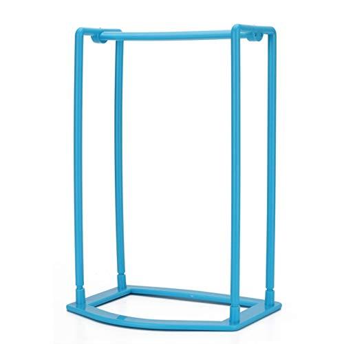 JISETY Grade Plastic Intelligent Design Hanger Storage Rack Shelf Holder Stacker Organizer Racks 16.7 x 12.7 ()